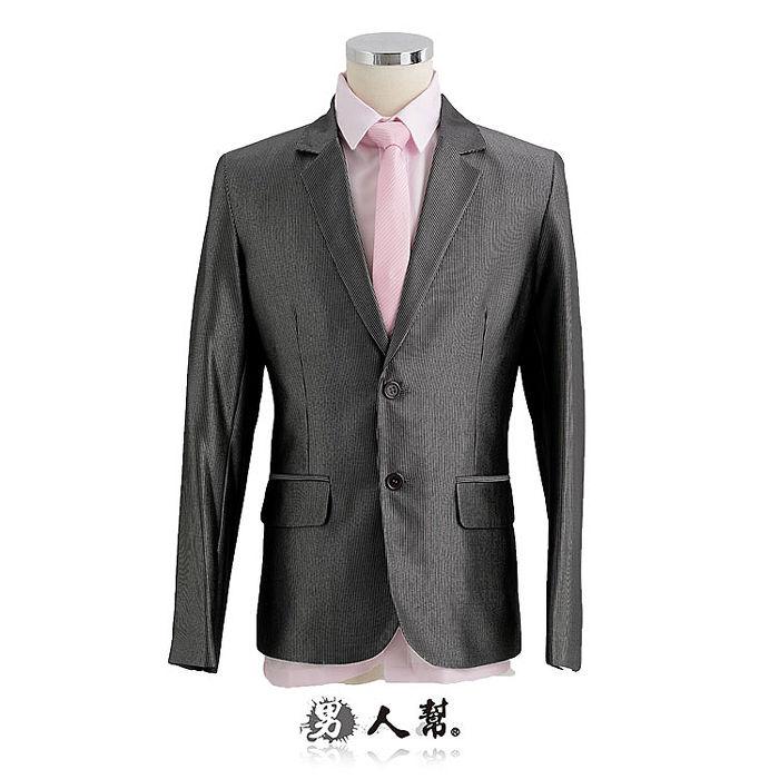 【男人幫】日系細紋版西裝外套(C5313)XL號