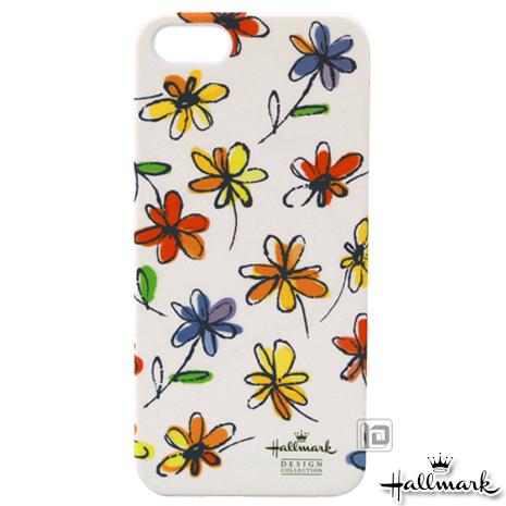 美國品牌【Hallmark】iPhone5/5S 彩繪手機保護殼-花彩塗鴉(WSH084)