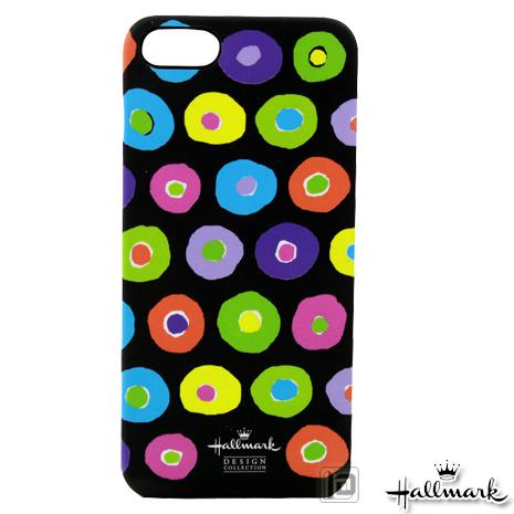 美國品牌【Hallmark】iPhone5/5S 彩繪手機保護殼-圓彩派對(WSH091)