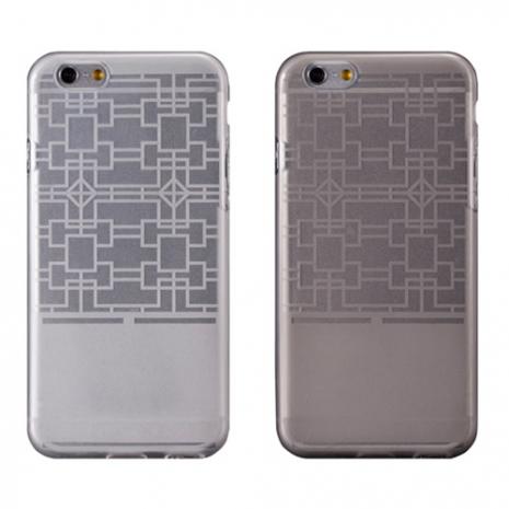 【Myshell】Apple iPhone 6 (4.7吋) 摩登紋路全透軟質保護殼