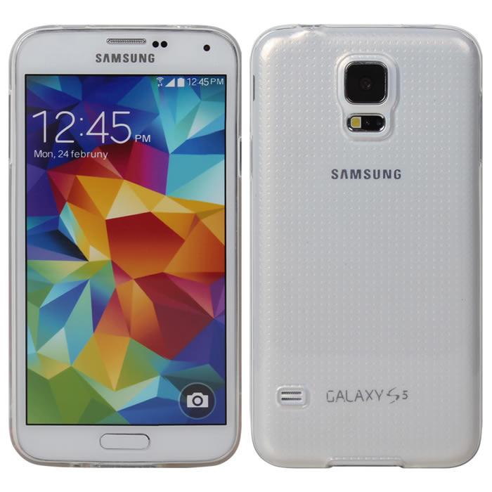 【Myshell】Samsung S5 清新全透軟質保護殼