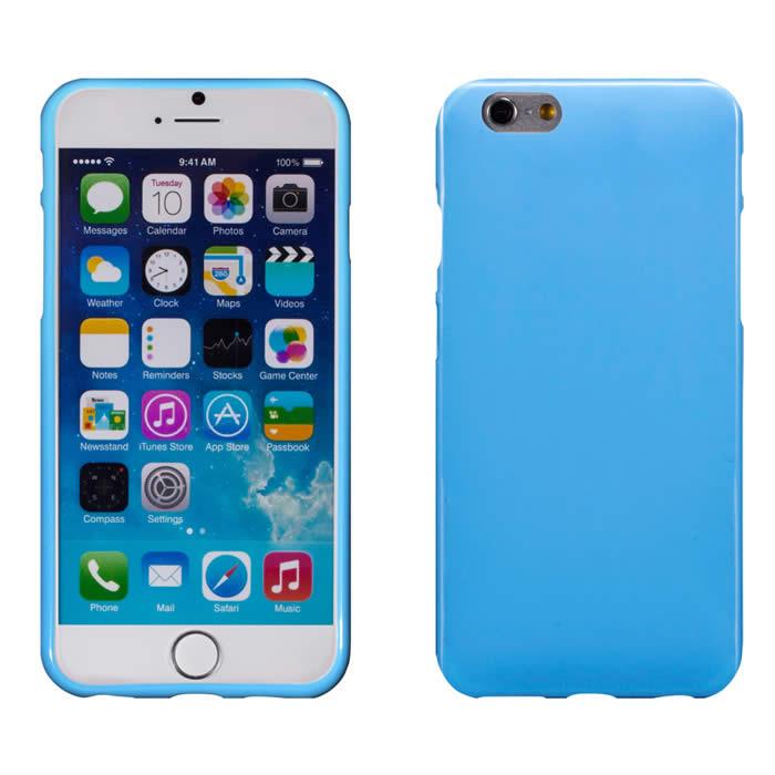 【Myshell】 Apple iPhone 6/6S Plus (5.5吋) 亮麗全彩軟質保護殼