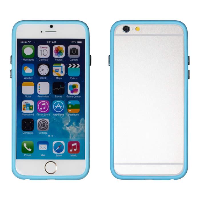 【Myshell】Apple iPhone 6 (4.7吋) 俏麗亮彩雙色保護邊框