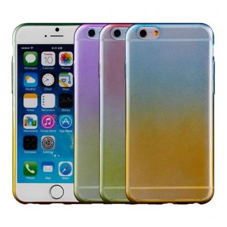 【Myshell】Apple iPhone 6/6S (4.7吋) 炫彩漸層軟質保護殼