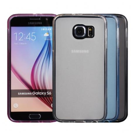 【Myshell】Samsung S6 輕量氣質軟質保護殼霧黑