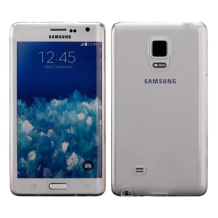 【Myshell】Samsung Note edge 清新全透軟質保護殼