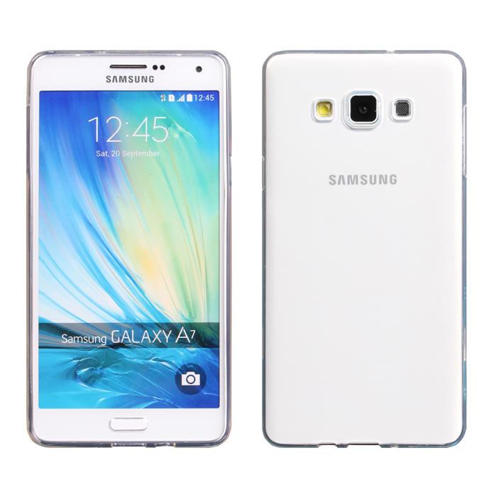 【Myshell】Samsung A7 清新全透軟質保護殼