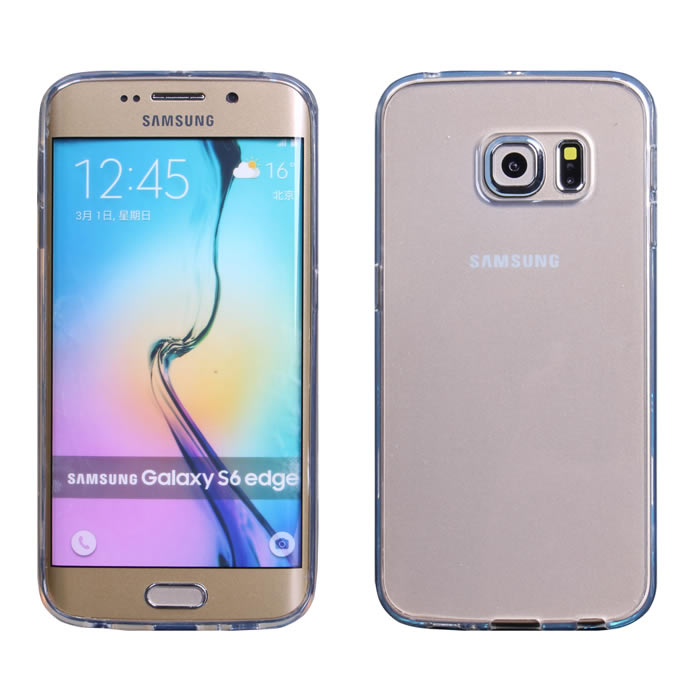 【Myshell】Samsung S6 edge 清新全透軟質保護殼