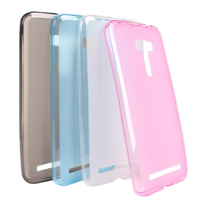 【Myshell】ASUS Zenfone Selfie 輕量氣質軟質保護殼霧白