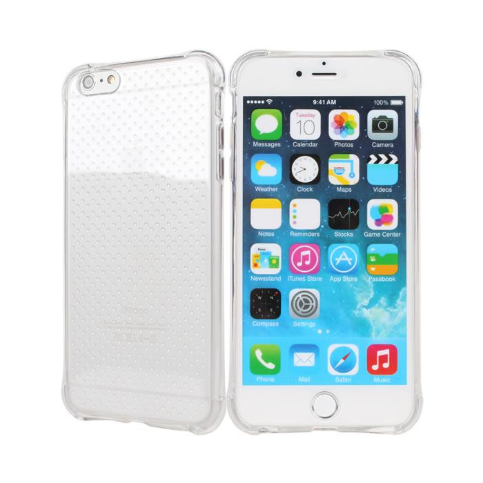 【Myshell】Apple iPhone6/6S Plus(5.5吋) 防摔全透軟質保護殼
