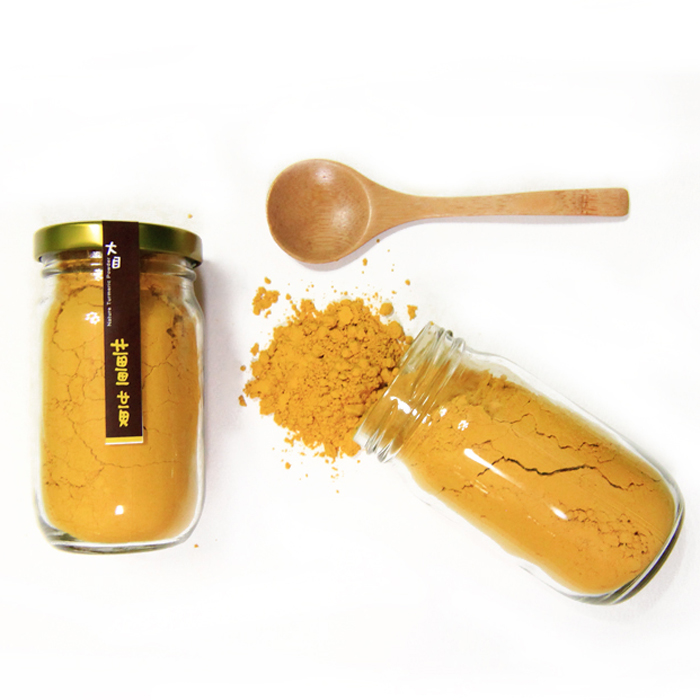 [ 大目農田 ] 100%純天然無毒薑黃粉(80g/罐)活動品