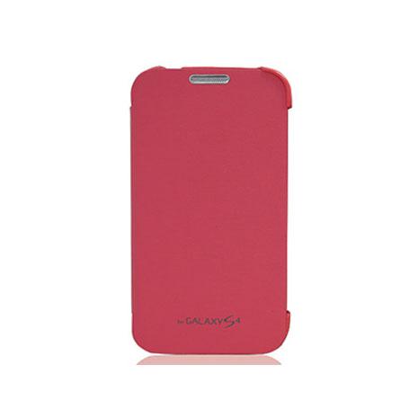 Amigo SAMSUNG S4 簡單側掀 開蓋式皮套 粉紅
