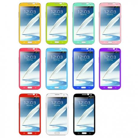 MERCURY SAMSUNG GALAXY NOTE2 專用彩色保護貼-手機平板配件-myfone購物