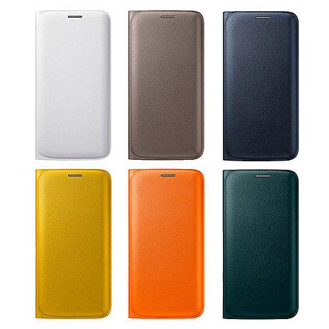 吊卡裝【三星原廠】Samsung Galaxy S6 edge 原廠書本翻頁式皮套黑色