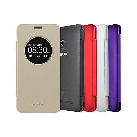 ASUS ZenFone5 A500CG/A501CG 原廠視窗智慧皮套(盒裝)-手機平板配件-myfone購物