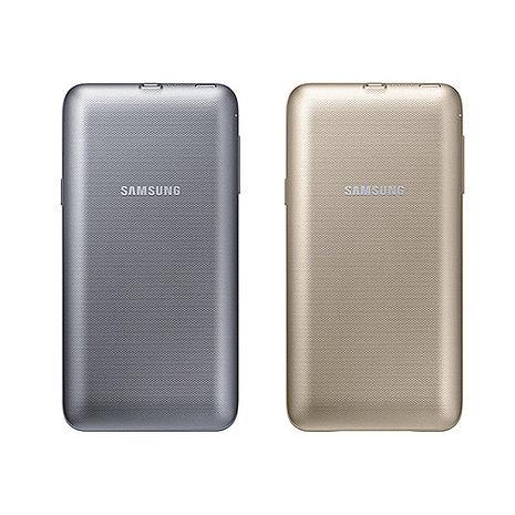 SAMSUNG GALAXY NOTE5 原廠無線行動電源背蓋 (盒裝)銀色