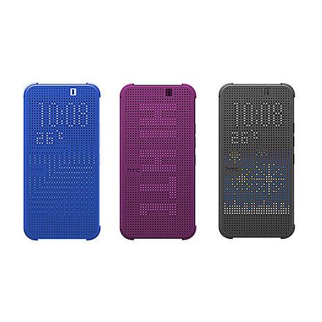 HTC Butterfly2 原廠炫彩顯示保護套HC M120(台灣代理商-盒裝)-手機平板配件-myfone購物