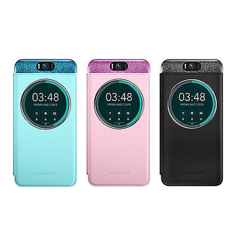 ASUS Zenfone Selfie ZD551KL專用 5.5吋原廠透視皮套 (台灣代理商-盒裝)黑色