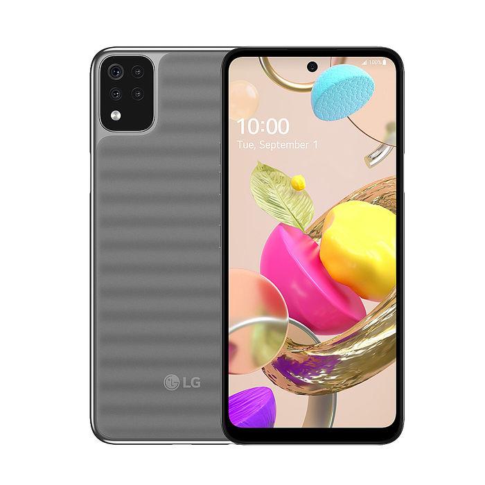 LG K42 (3GB/64GB) 6.6吋大螢幕雙卡雙待智慧機 (贈5000mAh行動電源+TypeC線等4好禮)
