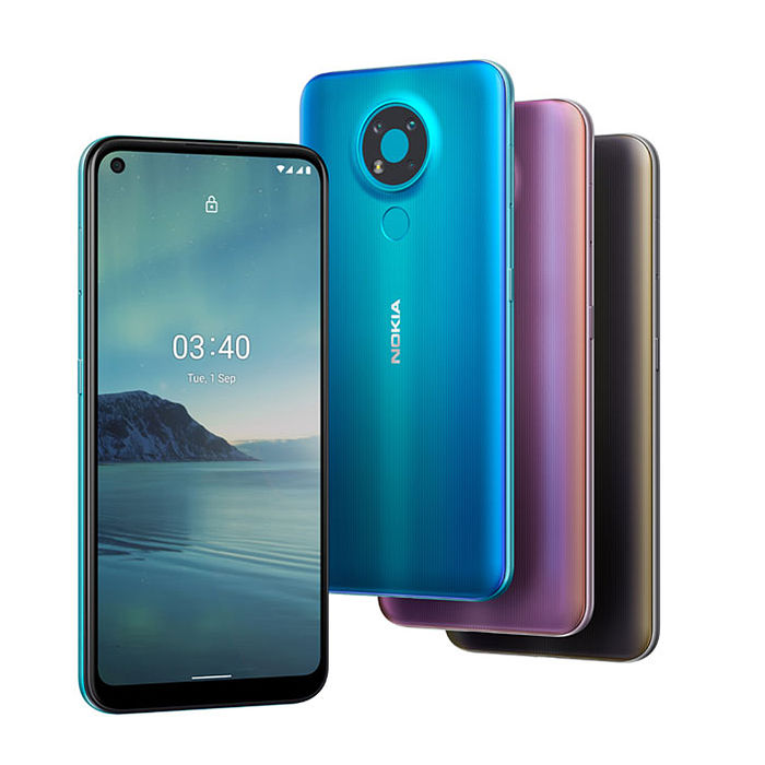 Nokia 3.4 3GB/64GB 6.39吋 雙卡雙待 智慧機 (贈鋼保+立架)