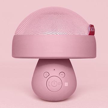 Skitoz Q1蘑菇藍牙喇叭【攜帶 藍牙 喇叭 音箱 音響 HiFi NFC 通話 電腦 手機】