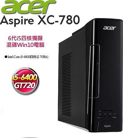 acer宏碁 Aspire XC-780【四核】Intel六代i5★128SSD+1TB★2G獨顯★Win10電腦