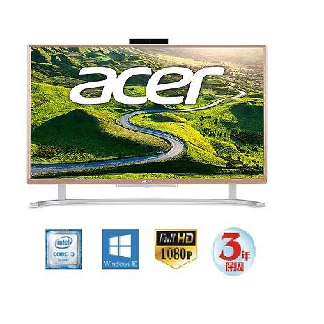 Acer C22-760 22吋/i3 雙核/8G/1TB/Win10 AIO超纖薄液晶電腦★世界最薄AIO1公分