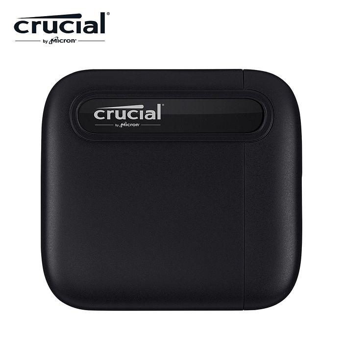【Micron Crucial 美光】 X6 1TB  外接式SSD (USB 3.2 Gen2/Type-C)