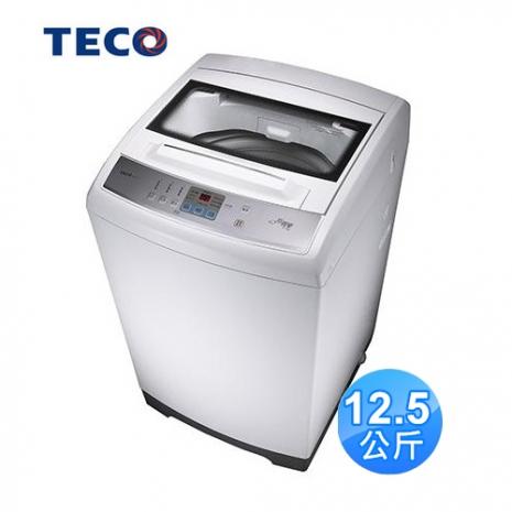 【TECO東元】12.5公斤FUZZY人工智慧定頻洗衣機W1226FW(含基本安裝)
