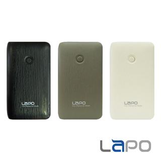 【LAPO】7200mAh 輕巧 木紋質感行動電源(E-09)