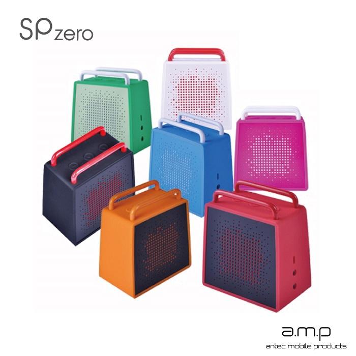 a.m.p SP Zero 防潑水無線藍牙行動喇叭(可通話)白