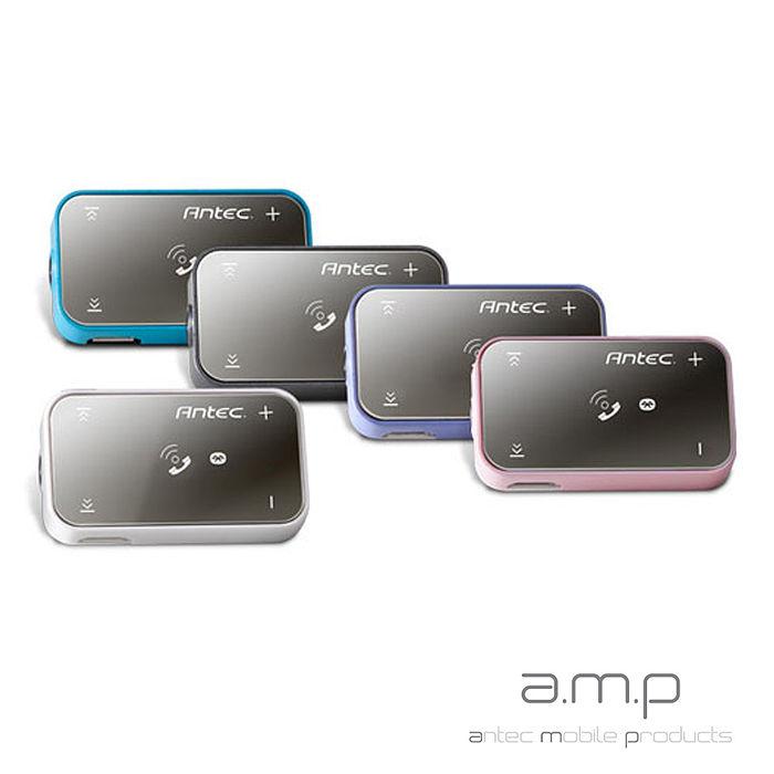 a.m.p BXR-100 gain 無線藍牙媒體接收器(附dBs耳機)藍