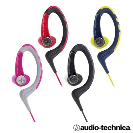 鐵三角ATH-SPORT1iS 智慧型手機用 運動耳機含麥克風