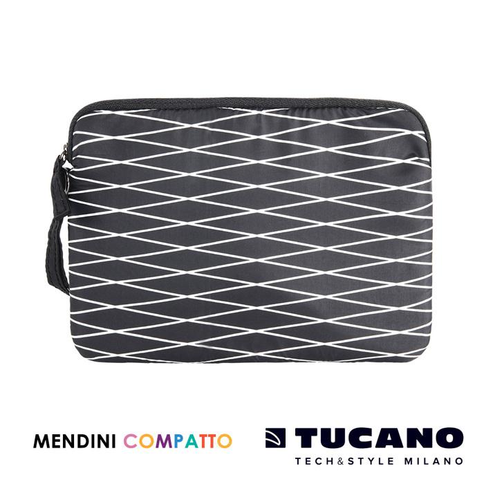 TUCANO X MENDINI 設計師系列輕量手拿包- 黑