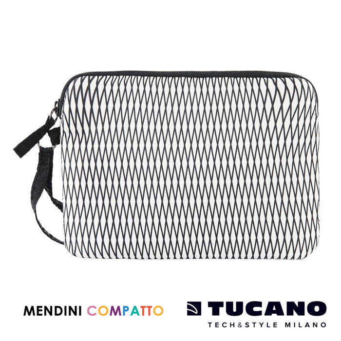 TUCANO X MENDINI 設計師系列輕量手拿包- 白