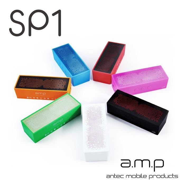 a.m.p SP1 防潑水無線藍牙行動喇叭(可通話)-3C電腦週邊-myfone購物