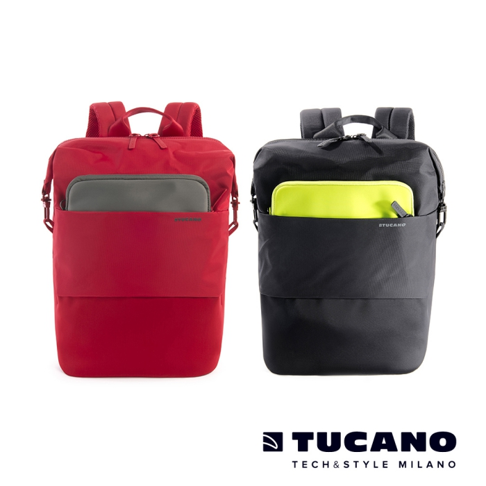 TUCANO MODO 15吋縱橫當代商務後背包附防雨衣 (適用16