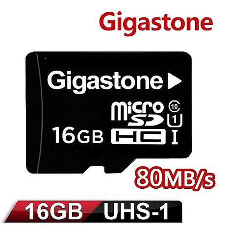Gigastone 立達國際 16GB MicroSDXC UHS-I 高速記憶卡(附轉卡)