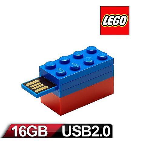 PNY - LEGO 樂高 積木隨身碟 16GB-藍-3C電腦週邊-myfone購物