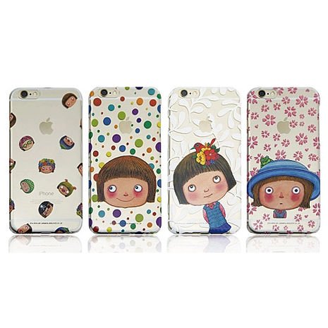幾米系列《不完美小孩》 iPhone 6/6s Plus 5.5吋透明背蓋-手機平板配件-myfone購物