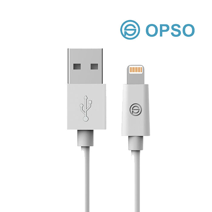 活動) OPSO APPLE MFI認證 Lightning 8pin iPhone傳輸充電線1M