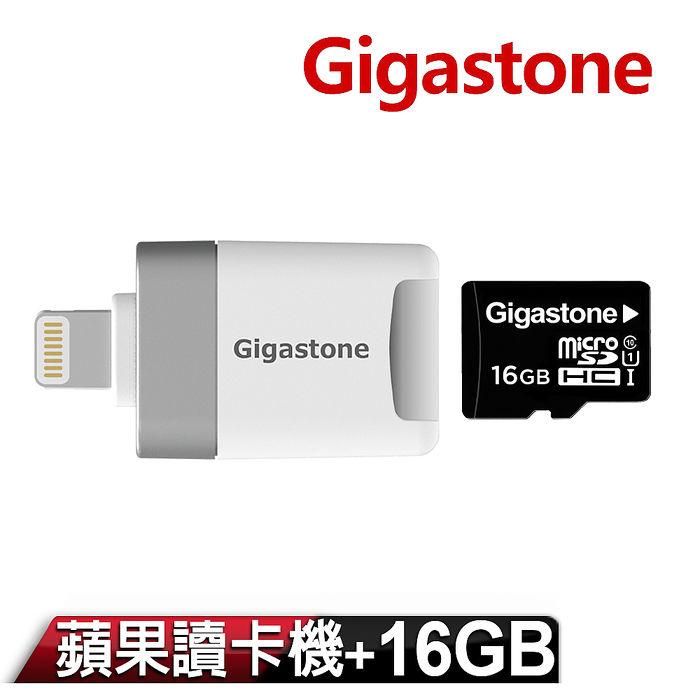 Gigastone i-FlashDrive MicroSD Apple讀卡機 CR-8600 (內含 64G記憶卡)