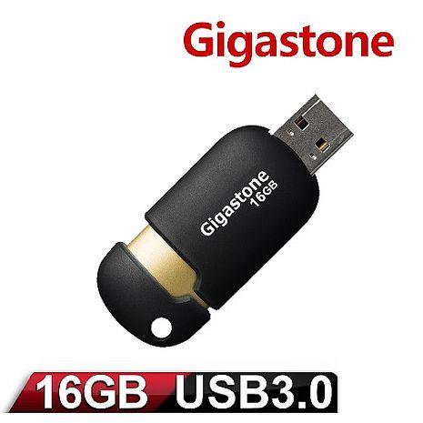 Gigastone 立達 U307 16GB USB3.0 膠囊隨身碟(黑/金)
