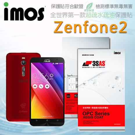 【Mypiece】imos 華碩 Asus Zenfone2 5吋 / 5.5吋 亮面膜 3SAS 螢幕保護貼