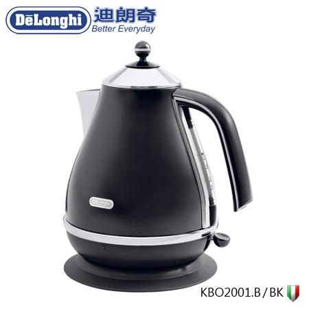 義大利 DeLonghi 迪朗奇 Icona系列快煮壺 KBO2001.BK(黑色)