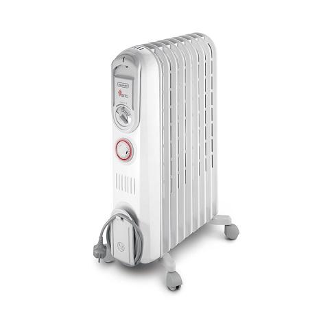 【福利品】義大利迪朗奇VENTO系列9片極速熱對流定時葉片電暖器 V550915T