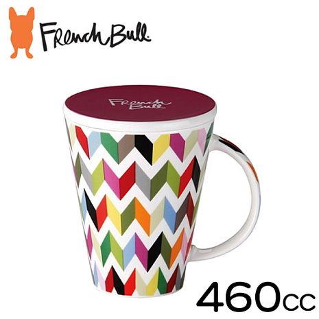 【French Bull】幾何幸福陶瓷馬克杯460ml