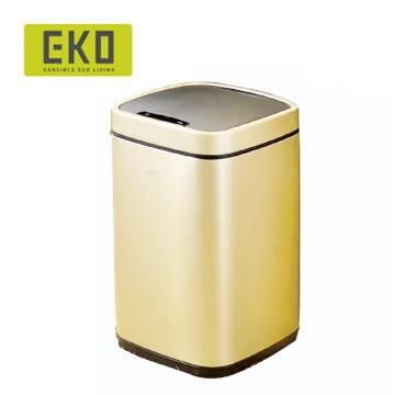 EKO臻美自動感應垃圾桶-9L(香檳金)-居家日用.傢俱寢具-myfone購物