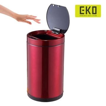 EKO晶潤自動感應垃圾桶-12L-居家日用.傢俱寢具-myfone購物