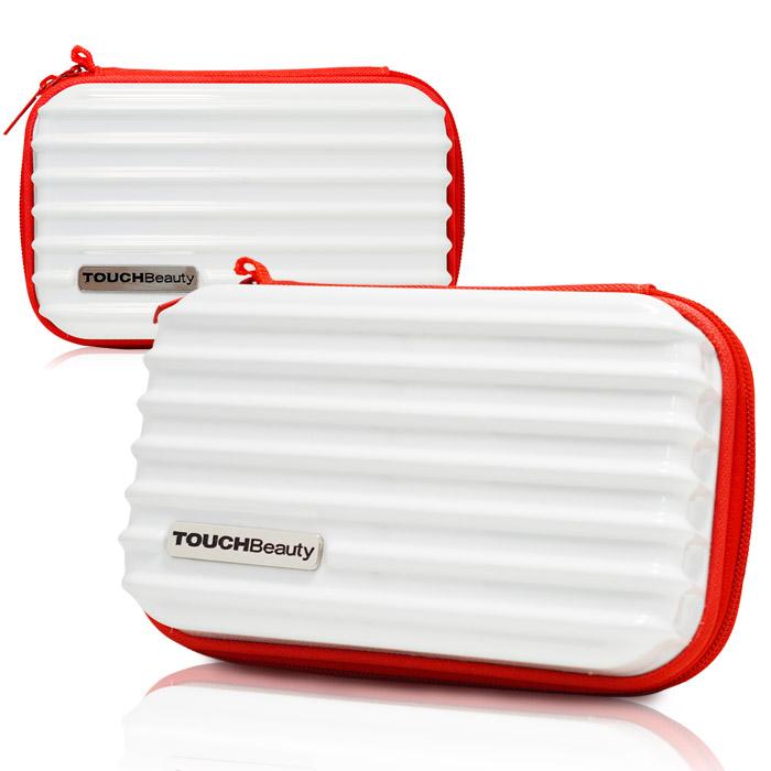 TouchBeauty 多功能過夜包/迷你行李箱/化妝包/收納包(白色)-11特賣